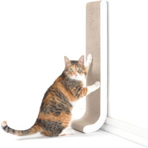 4CLAWS Wall Mounted Scratching Post Best Cat Scratching Post