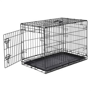 AmazonBasics Folding Metal Pet Crate