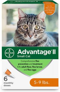 Bayer Advantage II Flea Prevention