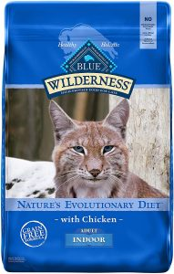 Blue Buffalo Wilderness Adult Dry Cat Food, Chicken