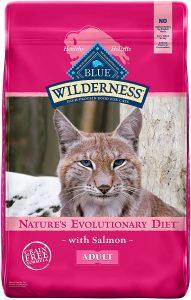 Blue Buffalo Wilderness Adult Dry Cat Food, Salmon
