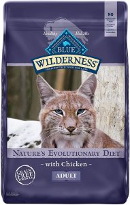 Blue Buffalo Wilderness Natural Adult Dry Cat Food