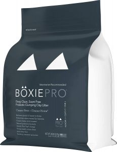 BoxiePro Clumping Cat Litter