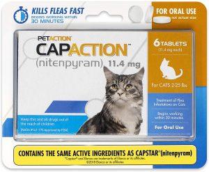 CapAction Oral Flea Treatment