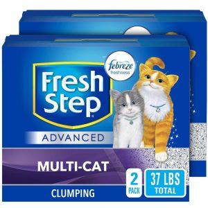 Fresh Step Advanced Multi Cat Clumping Cat Litter