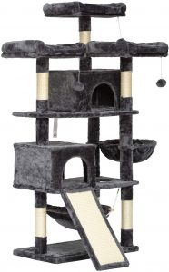 Hey Brother 63in Multi-Level Cat Tree