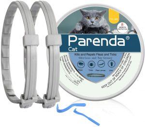 PARENDA Cat Flea and Tick Collar