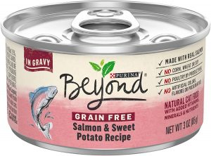 Purina Beyond Grain-Free Salmon & Sweet Potato Recipe