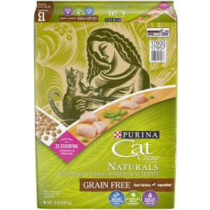 Purina Cat Chow Naturals Grain-Free Adult Dry Cat Food