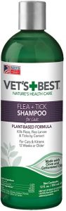 Vet's Best Advanced Flea And Tick Shampoo